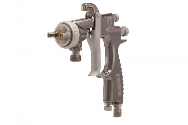 Finex Air Spray Pressure Feed Gun, conventional, 0.047 in (1.2 mm) needle/ nozzle size 289253