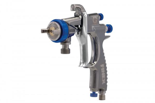 Finex Air Spray Pressure Feed Gun, HVLP, 0.039 in (1.0 mm) needle/ nozzle size 289247