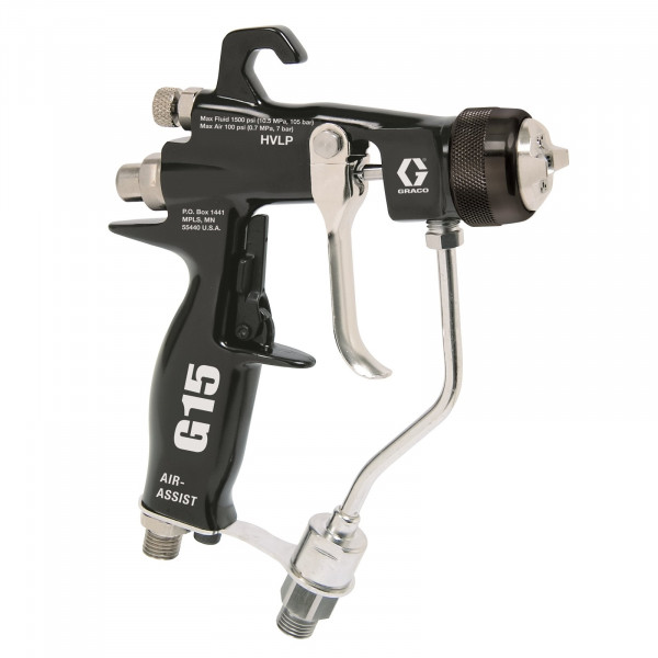 G15 Air-Assist Carbide Gun for low to medium viscosity materials 24C853