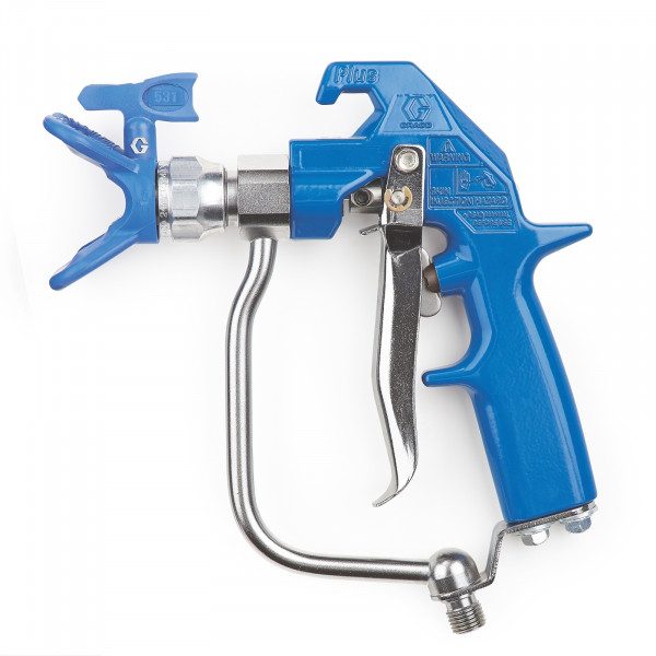 Heavy-Duty Blue Texture Airless Spray Gun, 4 Finger Trigger, RAC X 241705