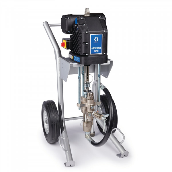 Bare e-Xtreme EX45 Electric Airless Sprayer, Cart-Mount, Integrated Filter 24Y902