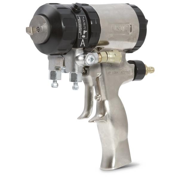 Flat Spray Fusion Air-Purge Spray Gun with 0.038 in (0.96 mm) Orifice Size 247132