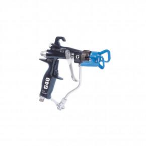 G40 Air-Assist Reverse-A-Clean (RAC) Spray Gun for high viscosity materials above 1500 psi 24C857
