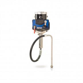10:1 Merkur Pump, 1.2 gpm (4.5 lpm) fluid flow, Wall Mt, Pump/Gun Air Controls, Suction Hose G10W03