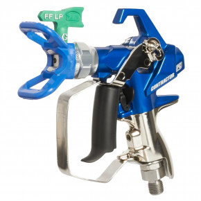 Contractor PC Compact Airless Spray Gun with RAC X FFLP 210 SwitchTip 19Y443