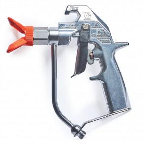 Silver Plus Airless Spray Gun, 2 Finger Trigger, Fine Finish Flat Tip 235462