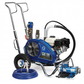 GH 130 Convertible Standard Series Gas Hydraulic Airless Sprayer with Electric Motor Kit 24W924