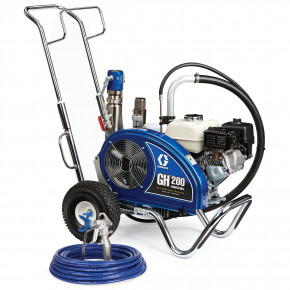 GH 200 Convertible Standard Series Gas Hydraulic Airless Sprayer 24W925