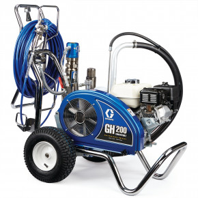 GH 200 Convertible ProContractor Series Gas Hydraulic Airless Sprayer 24W927