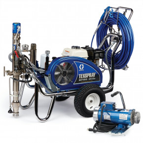 TexSpray DutyMax GH 230DI ProContractor Series Convertible Gas Hydraulic Airless Sprayer with Electric Motor Kit 24W963