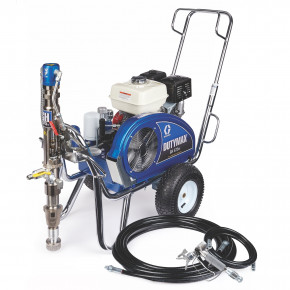 DutyMax GH 675DI Gas Hydraulic Airless Sprayer, Big 150 & Hopper 25D226