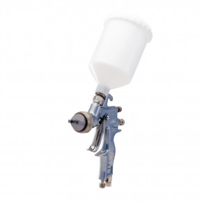 AirPro Air Spray Gravity Feed Gun, Compliant, 0.055 inch (1.4 mm) Nozzle, Plastic Gravity Cup 289017