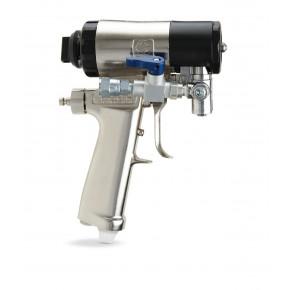 Fusion CS Gun, 16-18 in (406-457 mm) Flat Spray Pattern, 0.038 in (0.96 mm) Spray Tip, 0.052 in (1.3 mm) Mix Chamber CS02F5