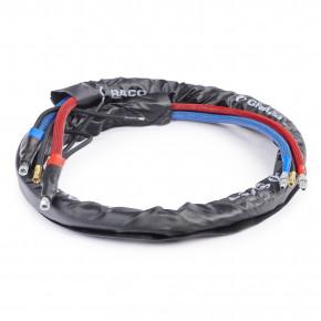 10 ft (6 m) HP 3500 psi (241 bar) Improved Flex Whip Hose with 1/4 in (6.3 mm) Inside Diameter 25P773