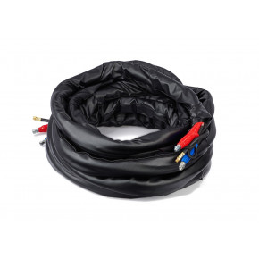 50 ft (15 m) Low Pressure Heated Hose with RTD, Xtreme-Wrap Scuff Guard, and 3/8 in (9.5 mm) Inside Diameter 24Y240