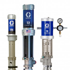 T3 Pump Package with 2 Pumps, Fluid Supply Kit, and Air Hose Kit 24Z987
