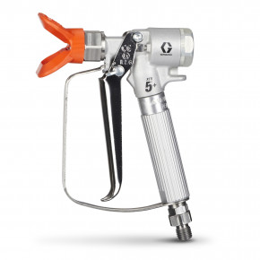 XTR5+ Airless Spray Gun, Round Handle, 4-Finger Trigger, Flat Tip XTR521